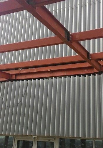 Sweden Mebu Caffee Steel Structure Fabrication Works