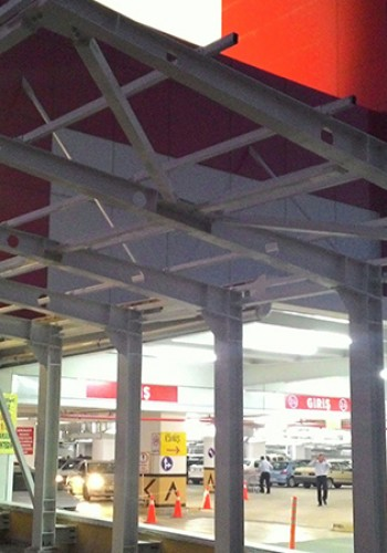 Ankara Sincan Gimsa Shopping Center Steel Construction Works