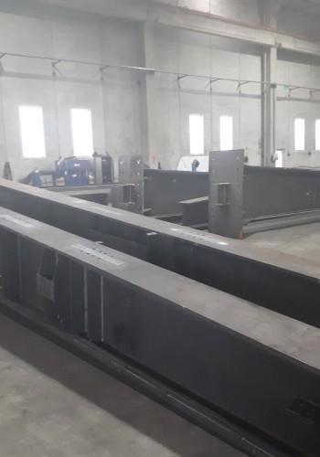 Turkmenistan Aircraft Hangar Steel Construction Works