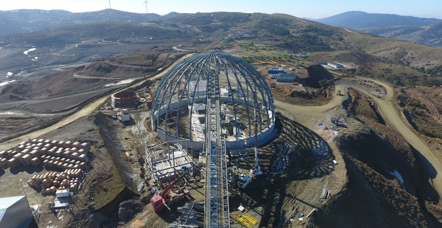 Balıkesir İvrindi Gold Mine Project Fabrication and Installation Works