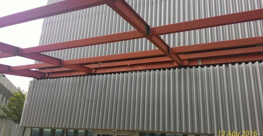Ankara JW Marriott Hotel Structure Fabrication and Installation Works