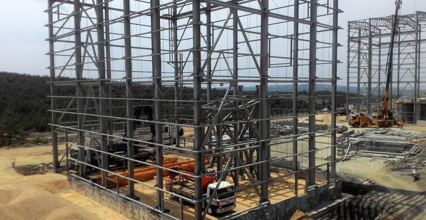Çanakkale Lapseki Altın Ve Gümüş Madeni Projesi Çelik İmalat ve Montaj İşleri