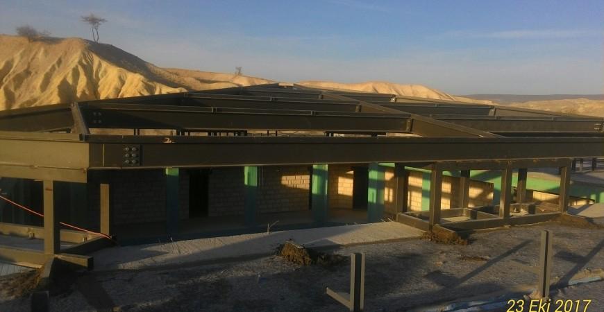 Nevşehir Urgup Ajwa Hotel Structure Fabrication and Installation Works
