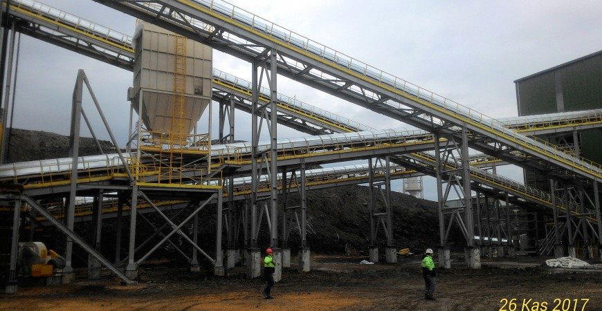 Çanakkale Gold Mine Project Fabrication and Installation Works
