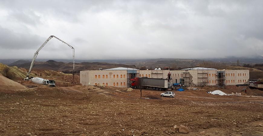 Nevşehir-Ürgüp Ajwa Otel Çelik Kontrüksiyon Çatı Projesi