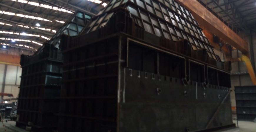Bolivya Santa Cruz Çimento Fabrikası Çelik Endüstriyel Filitre İmalatı
