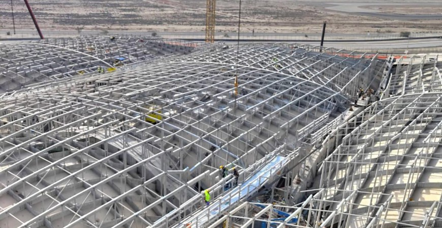 Kuwait Airport Steel Construction Works