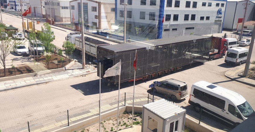 Shell Özel E House  Çelik Konteynır Üretimi