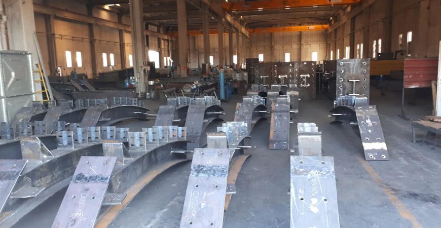 Sivas Garı Çelik Konstrüksiyon Peron İmalatları